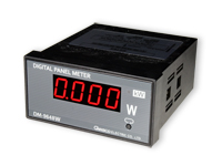 Digital Panel-Mount Wattmeter Instrument - Panel Consumption Meter - DM-9648W