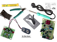 Kit - Educativo de Soldadura para Principiantes - EDU03