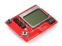 ARDUINO LCD4884 LCD JOYSTICK SHIELD V2.0 board