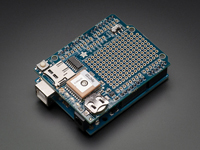 ARDUINO GPS SHIELD ADAFRUIT ULTIMATE GPS LOGGER - inclui módulo GPS