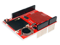 SD Card shield with Real Time Clock for Arduino - DATE LOGGING SHIELD