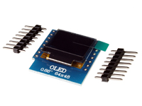 "Wemos - D1 Mini Tela OLED 0,66"""