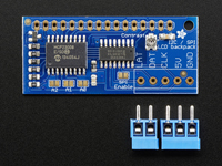 ADAFRUIT I2C/SPI CHARACTER LCD BACKPACK