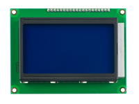LCD Graphic Display Module 128 x 64 - Blue Background - LCD12864