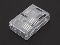 Transparent RASPBERRY PI model b+, b 1gb case