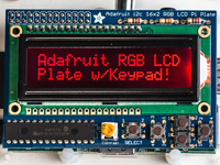 RASPBERRY 16 x 2 RGB LCD display shield i2c