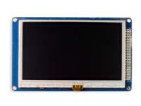 "Ssd1963 - 4.3"" 480 x 272 TFT touch display module"