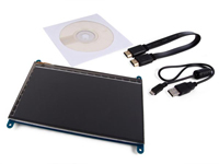 "HDMI 7"" 800 x 482 TFT with touch screen"