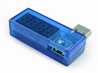 Gembird EMU-01 - Medidor USB - Voltímetro e Amperímetro