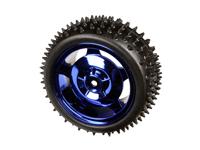 85 mm 4 WD - 2 WD Wheel - Blue