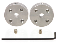 Pair of Mounting Hubs for Shaft Motor - 4 mm - 1081