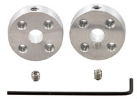Pair of Mounting Hubs for Shaft Motor - 5 mm - 1203