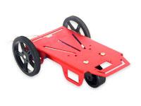 Feetech 2WD Mini Robot - Chassi - Alumínio