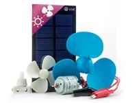 Xunzel Microsolar Series - Kit Motor Solar y Ventilador