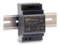 Mean Well HDR-60-24 - Fonte de Alimentação Comutada Trilho DIN 60 W - 24 V