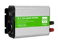 EnerGenie PWC-033 - DC-AC Modified Sine Wave Inverter 500 W - 12 V
