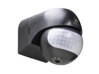 Xindar SEKKYUR-NANO B - Detetor de Presença PIR - Montagem Parede - Interior-Exterior - Preto
