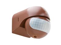Xindar SEKKYUR-NANO CH - Detetor de Presença PIR - Montagem Parede - Interior-Exterior - Castanho