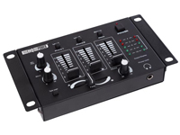 Velleman PROMIX50N - Stereo Mixing Table - 3 Channels + 2 Micro Input