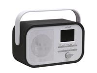 Denver DV-10506 - Radio DAB+ FM com Suporte para Apresentar DAB - Cor Preto - DAB-40BLACK