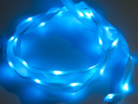 Sewable LED ribbon 25 LEDs 1 m blue
