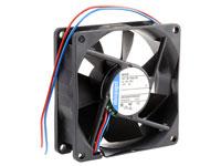 ebm-papst 8412N - Ventilador Axial Bolas 80 x 80 x 25 mm - 12 Vcc