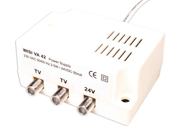 Fonte de alimentação de amplificador de mastro de antena