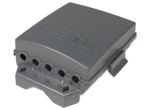 Masthead TV antenna amplifier 1 UHF + 1 VHF