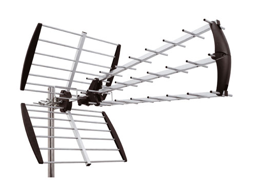 Outdoor TV masthead antenna UHF