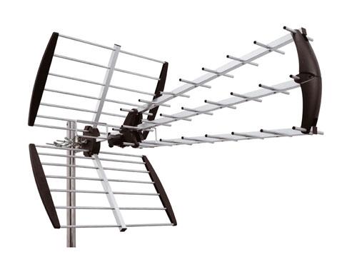 ANTENA EXTERIOR TV MASTIL UHF