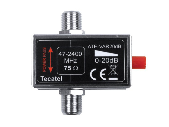 Tecatel VAR20 - Dimmer Antena TV 0-20 dB