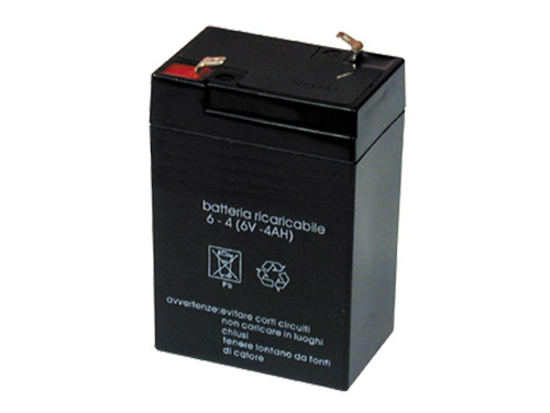 6 V - 4.2 AH lead-acid battery