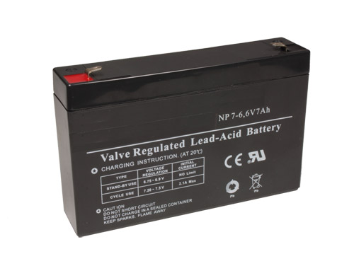 7,2-6 - 6 V - 7 Ah Lead-Acid Battery