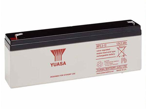 Bateria chumbo 12 V - 2,3 AH - YUASA - 2.3-12