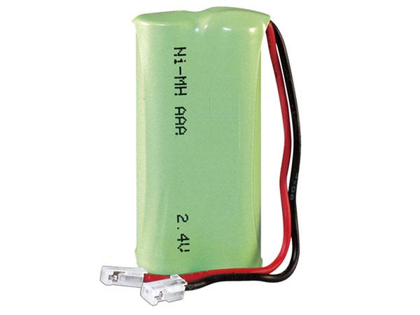 2.4 V - 700 mAH NiMH AAA battery - x 2