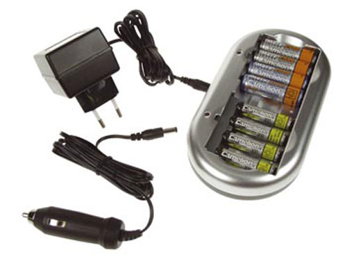 NiMH AA-AAA battery charger