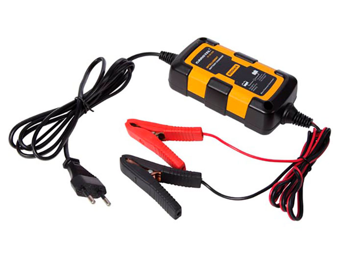 Perel AC008 - Carregador de Bateria Chumbo 12 V - 500 mA