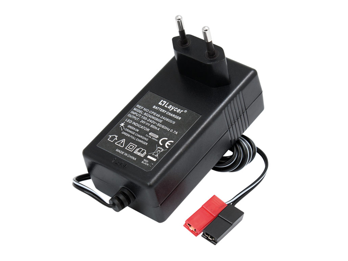 24 V - 800 mA lead acid battery charger