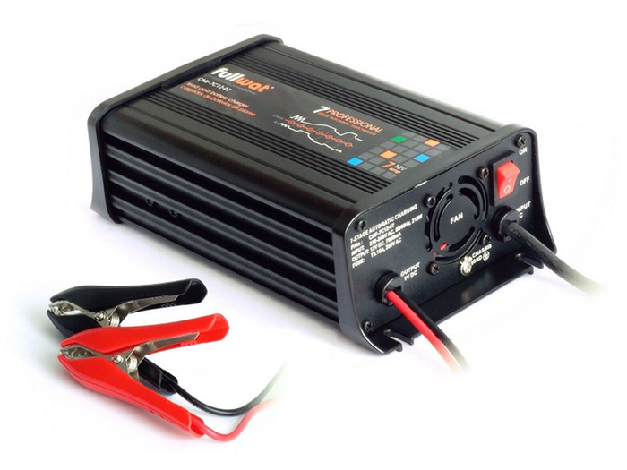 CMF-7C12-05 - 12 V -5 A lead acid battery charger - 7 stages