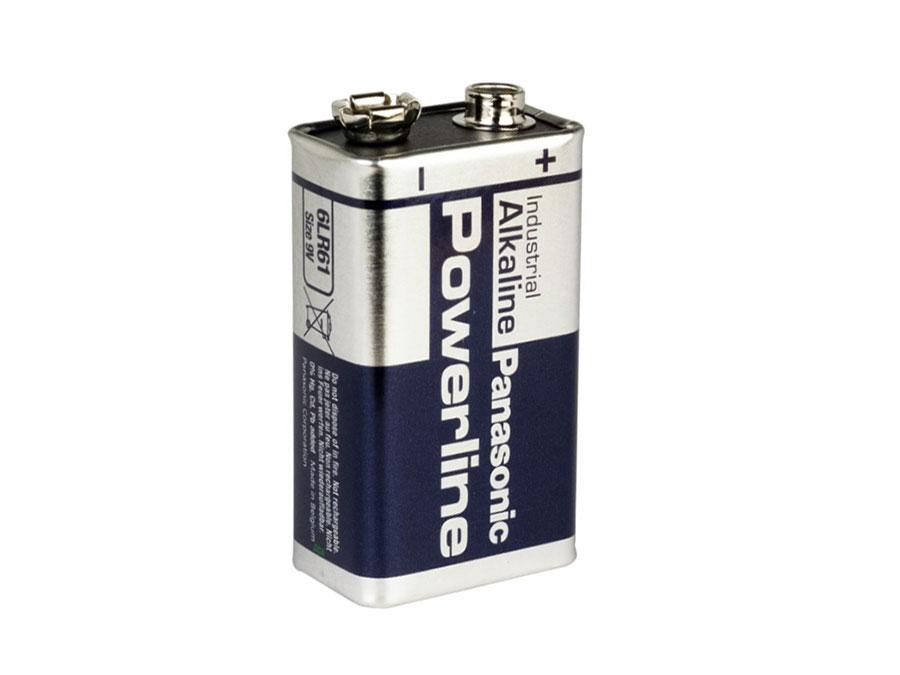 Panasonic -  Pilha alcalina 9 V - POWERLINE 6LR61AD/1P