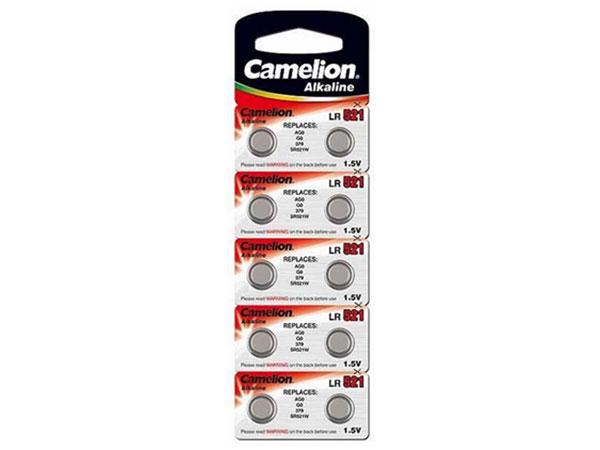 CAMELION - lr521 - ag0 - d379 - 1.5 V alkaline button cell battery