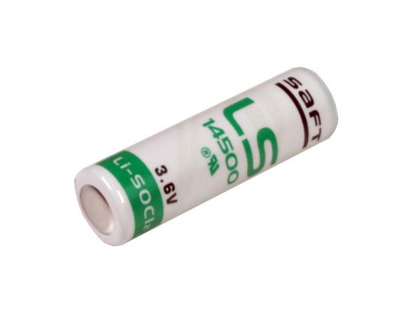LS14500 - 3.6 V 2600 mAH AA lithium battery