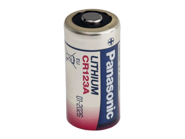 CR123 - Pile lithium CR123 - 3 V 1400 mAH - 2/3A - PANASONIC