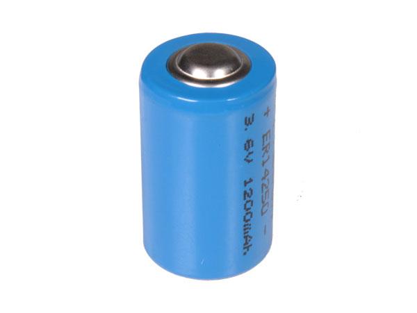 ER14250 - LS14250 - 3.6 V 1200 mAH 1 / 2 AA lithium battery