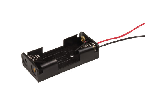 Battery Holder for 2 AAA Batteries with Cable - 33.065/2