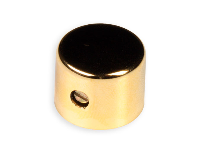 6 mm Golden Control Knob - 19 mm Diameter