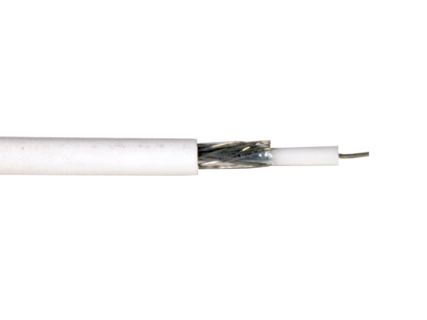 Lazsa MINICOAXIAL - Coaxial Cable for TV Antenna Minicoax Cable - Thin Antenna Cable - 9490