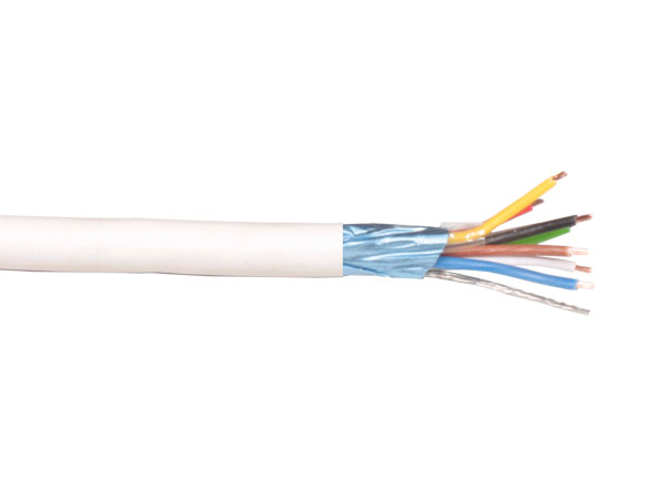 Round Shielded Cable for intercom - 12 x 0.22 mm