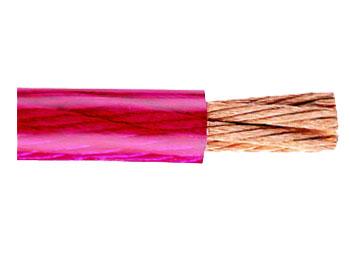 CABLE UNIPOLAR MULTIFILAR PVC 6mm² ROJO