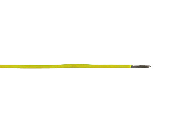 CABLE UNIPOLAR MULTIFILAR FLEXIBLE 0,14mm² AMARILLO - 90 mts